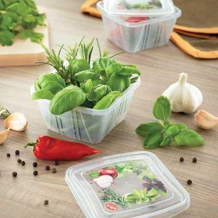 סט 11 קופסאות אחסון למזון Snips