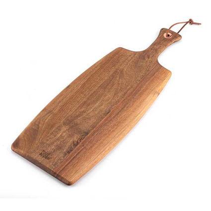 """קרש חיתוך מלבני מעץ שיטה בגודל 51X20 ס""""מ מבית Food Appeal"""
