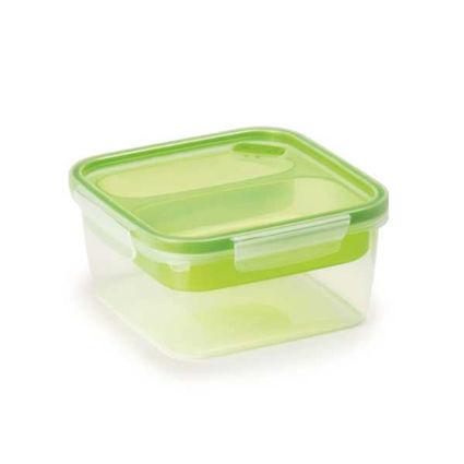 קופסת אוכל מחולקת 1.4 ליטר מרובע SnipLock