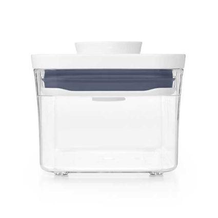 קופסת אחסון למטבח 0.6 ליטר מלבן אוקסו