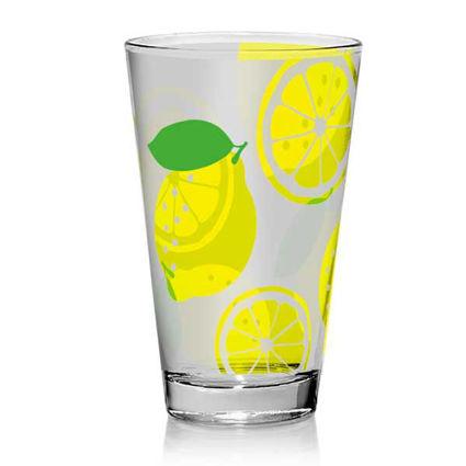 """3 כוסות שתיה 310 מ""""ל Lemon"""