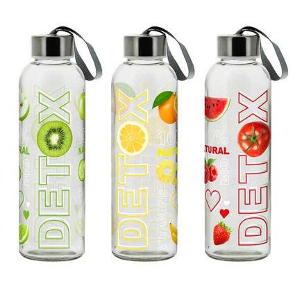 """בקבוק מים 500 מ""""ל DETOX"""