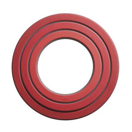 סט 3 תחתיות בצבע אדום מבית אוקסו