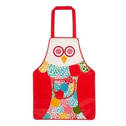 סינר מטבח לילדים בעיצוב ינשוף