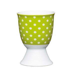 ביציה בעיצוב ירוק מנוקד קיטשנקראפט