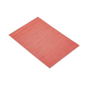 פלייסמט ארוג בצבע אדום קיטשנקראפט