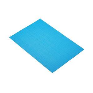 פלייסמט ארוג בצבע כחול בוהק קיטשנקראפט