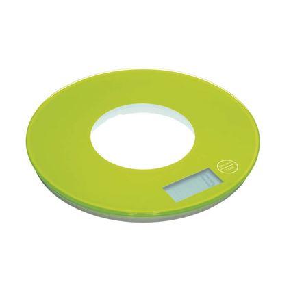 משקל מטבח דיגיטלי בצבע ירוק קולורוורקס