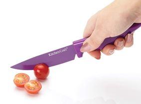 סכין מטבח רב שימושית בצבע סגול קולורוורקס