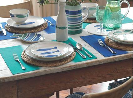 סט כלי שולחן מבית מיקסה| אוקינוס