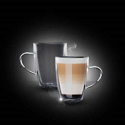 זוג כוסות קפה לאטה מדגם ג'מייקה פוד אפיל - Food Appeal