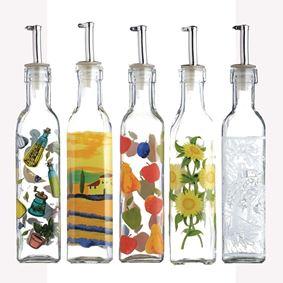 בקבוק שמן/חומץ בעיצובים שונים מבית קיטשנקראפט
