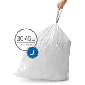20 שקיות לפחים 45 - 30 ליטר סימפלהיומן - Simplehuman