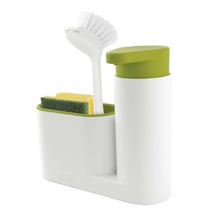 מתקן לכיור בעל דיפסנסר לסבון + אחסונית כיור מבית ג'וזף ג'וזף - Joseph Joseph