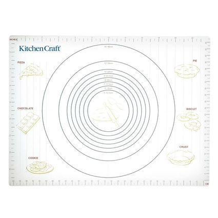 תמונה של משטח אפיה גמיש עם סימני מדידה - קיטשנקראפט