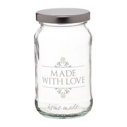 צנצנת זכוכית LOVE מבית קיטשנקראפט - Kitchen Craft