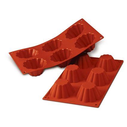תבנית סיליקון לבריוש מסדרת קרין גורן מבית סיליקומרט - Silikomart