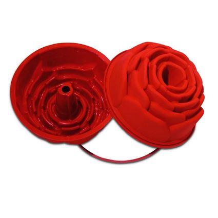 תבנית סיליקון ורד לעוגה מסדרת קרין גורן מבית סיליקומרט - Silikomart