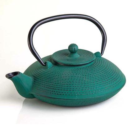 קומקום יפני לחליטות תה 0.8 ליטר מיציקת ברזל