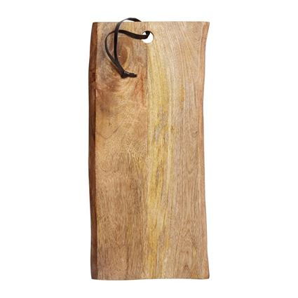 לוח עץ מנגו להכנת מזון והגשה - מאסטרקלאס