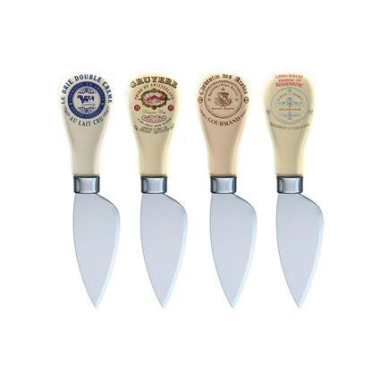 תמונה של סט 4 סכיני גבינה  קריאייטיב טופס - Creative Tops