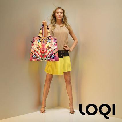 תיק קניות מעוצב לשימוש יום יומי - לוקי LOQI