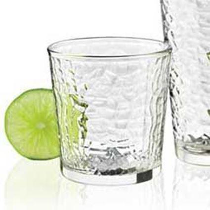 """כוס שתייה מאורכת ומעוצבת להגשת שתייה קרה בנפח 380 מ""""ל דגם פרוסט"""
