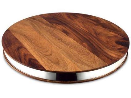 לוח חיתוך - בוטצ'ר בלוק אמיתי מקוביות עץ שיטה מסיבי - ארקוסטיל Arcosteel