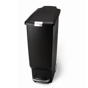 פח אשפה 40 ליטר בצבע שחור סימפלהיומן - Simplehuman