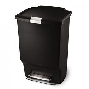 פח אשפה 45 ליטר מלבני סימפלהיומן - Simplehuman