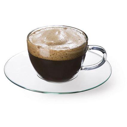 כוסות לאספרסו מזכוכית (פיירקס) חסין אש דגם פיקולו