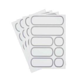 32 מדבקות לקופסאות מזון OXO