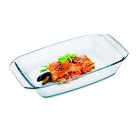 תבנית מלבנית לתנור מזכוכית(פיירקס) חסינת אש - Simax