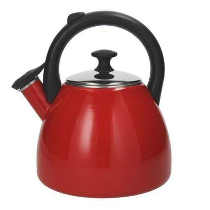 קומקום מים שורק 2.5 ליטר צבע אדום