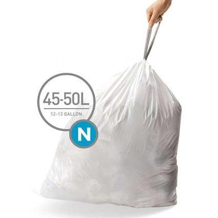 שקיות לפח 45-50 ליטר