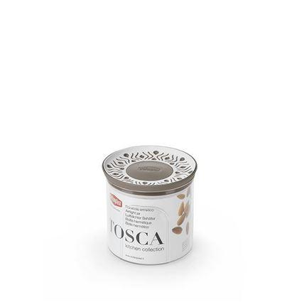 קופסת אחסון למטבח 0.7 ליטר עגול Tosaca חום