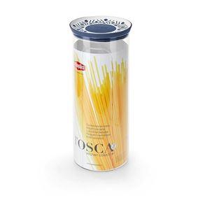 קופסת אחסון עגול 2.2 ליטר Tosaca אפור