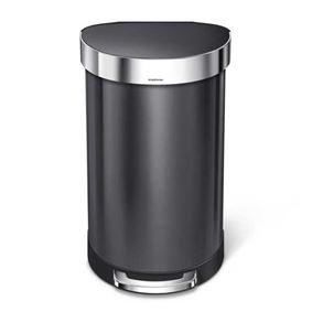 פח אשפה 45 ליטר חצי עגול Simplehuman