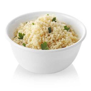 קערת אורז גדולה קורנינג לבן