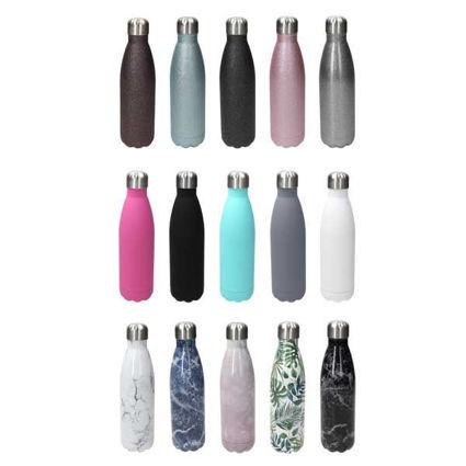 בקבוק תרמי מבודד במבחר של 15 דוגמאות