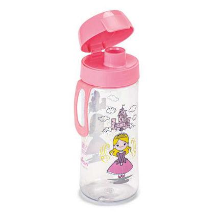 בקבוק מים רב פעמי לילדים 0.5 ליטר נסיכה