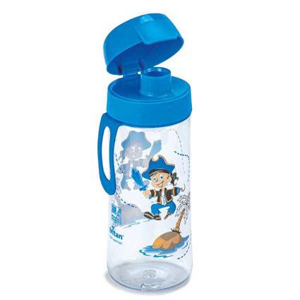 בקבוק מים רב פעמי לילדים 0.5 ליטר פיראט