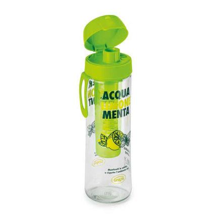 בקבוק מים 0.75 ליטר עם פילטר לטעמים - לימונים
