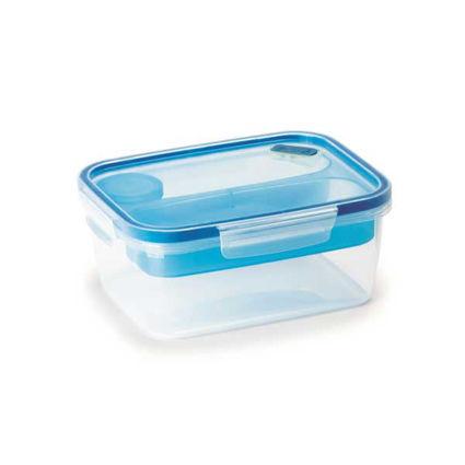 קופסת אוכל מחולקת 1.5 ליטר מלבני SnapLock