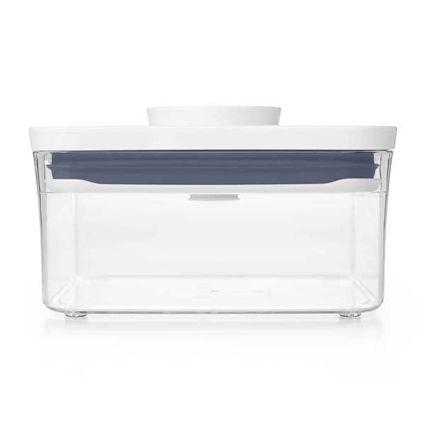 קופסת אחסון למטבח 1 ליטר שטוח אוקסו
