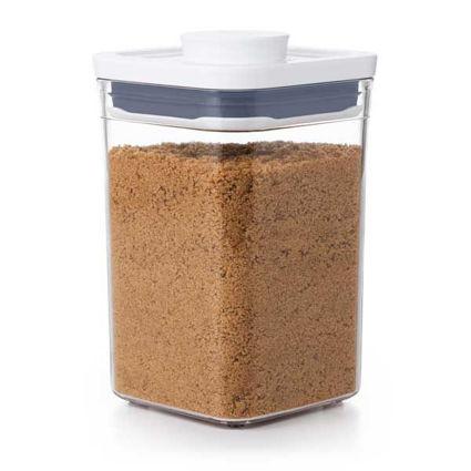 קופסת אחסון למטבח 1 ליטר ריבוע אוקסו