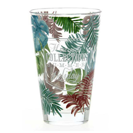 """סט 6 כוסות שתיה 310 מ""""ל Hawaii"""